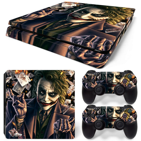 The Joker  For PS4 Slim Skin Sticker Vinyl Cover