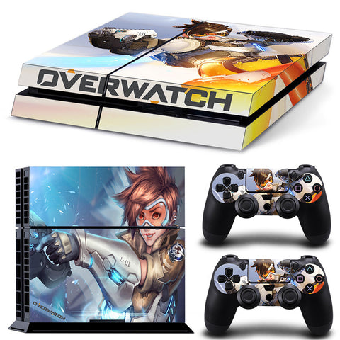 Overwatch For PS4 Vinyl Skin Sticker Cover For PS4 Playstatio 4