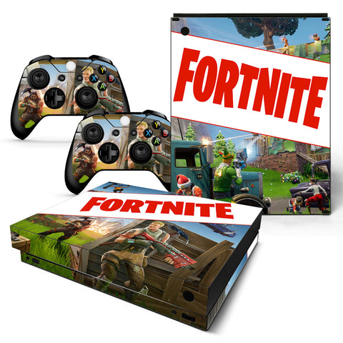 Fortnite Vinyl Skin Sticker Protector for Xbox One X