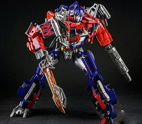 WeiJiang Transformer Movie Version Leader Class Optimus Prime Figure Toys