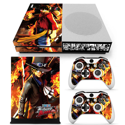 Actionfiguresale One Piece Vinyl Skin Sticker Protector for Xbox One S