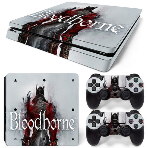 Actionfiguresale Bloodborne  For PS4 Slim Skin Sticker Vinyl Cover