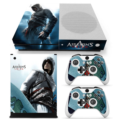 Actionfiguresale Assassin's Creed Vinyl Skin Sticker Protector for Xbox One S