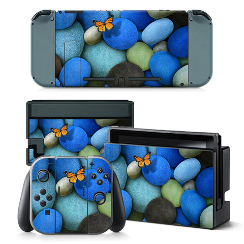 Nintend Switch Vinyl Skins Sticker For Nintendo Switch Console and Controller Skin Set - For Decorative Pattern