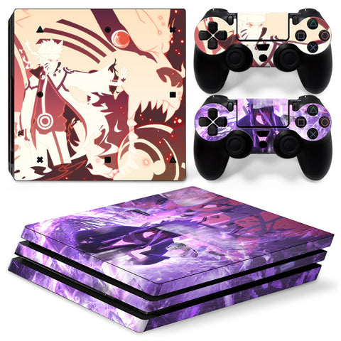 Naruto For PS4 Pro Skin Sticker Cover For PS4 Playstation 4