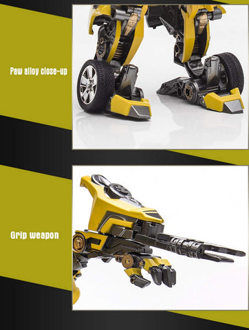 Actionfiguresale WEIJIANG Transformer Battle Blades Bumblebee Action Figure Toys 18cm
