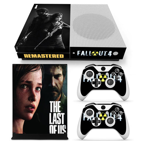 The Last Of US Vinyl Skin Sticker Protector for Xbox One S