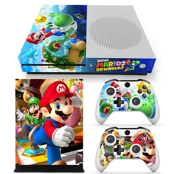 Video Games & Consoles Reasonable Xbox One S Slim Console Re:life In A Different World From Zero Vinyl Stickers Faceplates, Decals & Stickers