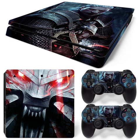 witcher For PS4 Slim Skin Sticker Vinyl Cover