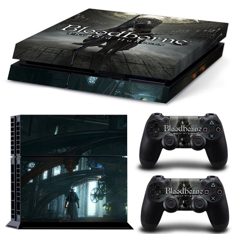 Bloodborne For PS4 Vinyl Skin Sticker Cover For PS4 Playstatio 4