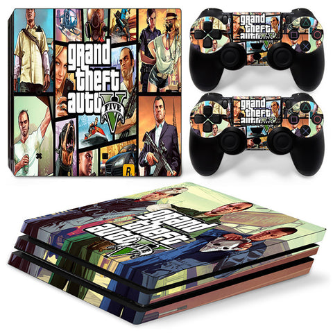 Actionfiguresale Grand Theft Auto For PS4 Pro Skin Sticker Cover For PS4 Playstation 4