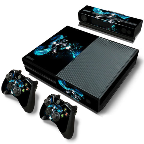 Actionfiguresale Hatsune Miku Vinyl Skin Sticker Protector for Microsoft Xbox One