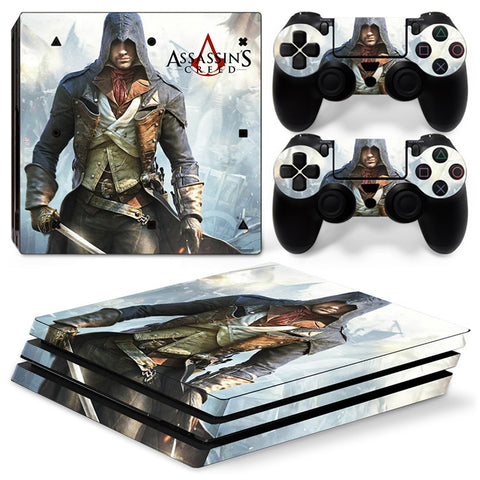 Assassin's Creed For PS4 Pro Skin Sticker Cover For PS4 Playstation 4