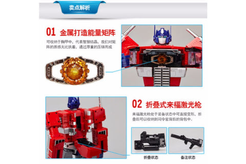 Actionfiguresale WeiJiang Transformers Masterpiece MPP10 Optimus Prime 32cm