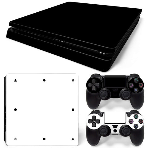 Actionfiguresale Pure color  For PS4 Slim Skin Sticker Vinyl Cover
