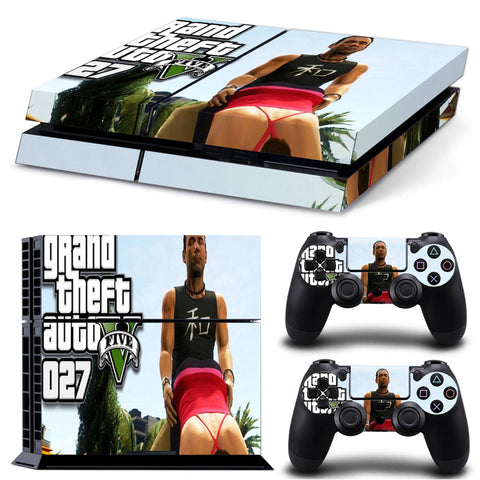 Actionfiguresale Grand Theft Autov For PS4 Vinyl Skin Sticker Cover For PS4 Playstatio 4