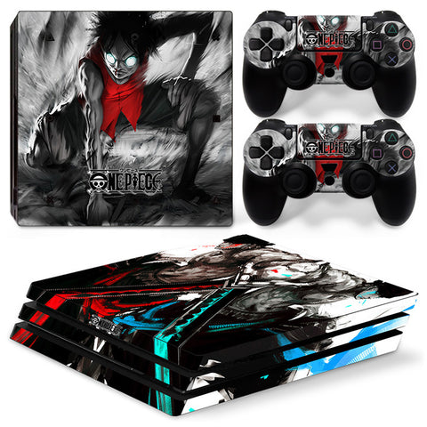 Actionfiguresale One Piece For PS4 Pro Skin Sticker Cover For PS4 Playstation 4