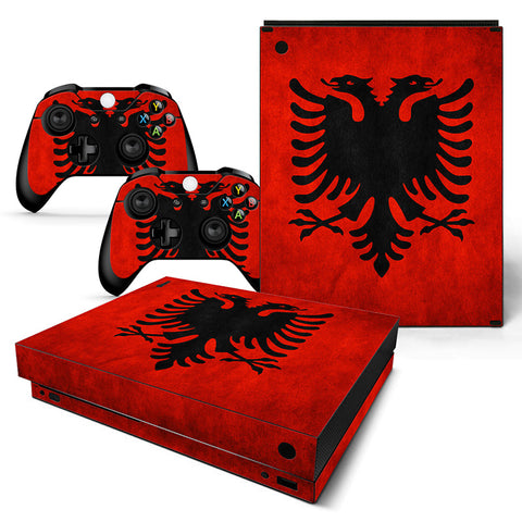 Flag Vinyl Skin Sticker Protector for Xbox One X