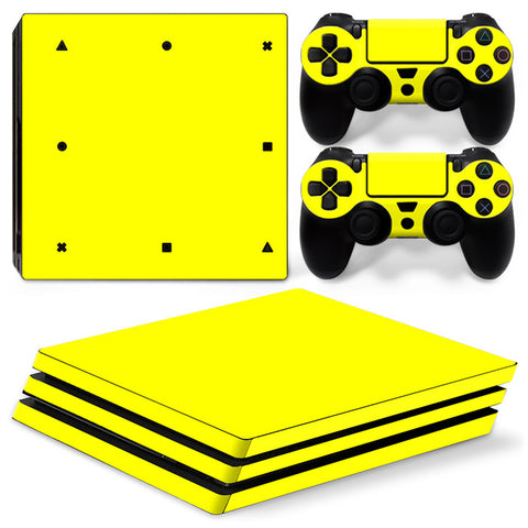 Actionfiguresale Pure Color For PS4 Pro Skin Sticker Cover For PS4 Playstation 4