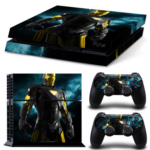 Actionfiguresale Lron Man For PS4 Vinyl Skin Sticker Cover For PS4 Playstatio 4