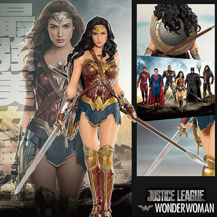 Actionfiguresale DC Movie Justice League ARTFX + Wonderful Woman Drama Toys