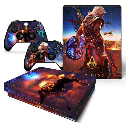 Actionfiguresale Assassin's Creed  Vinyl Skin Sticker Protector for Xbox One X