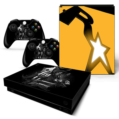 Actionfiguresale Grand Theft Autov Vinyl Skin Sticker Protector for Xbox One X
