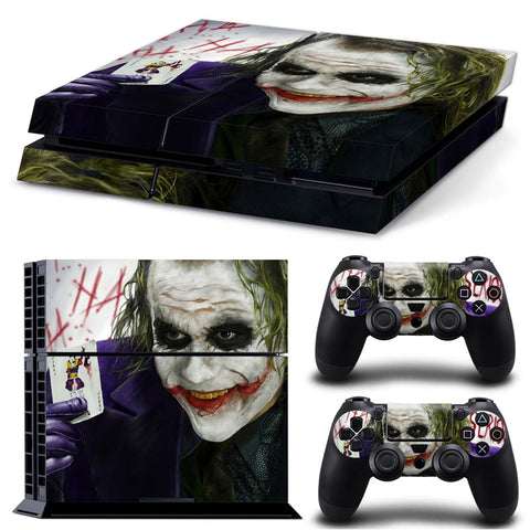 Actionfiguresale The Joker For PS4 Vinyl Skin Sticker Cover For PS4 Playstatio 4