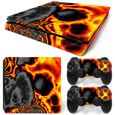 Actionfiguresale Decorative pattern For PS4 Slim Skin Sticker Vinyl Cover