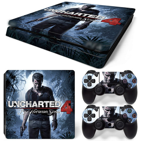 Uncharted  For PS4 Slim Skin Sticker Vinyl Cover