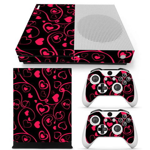 Actionfiguresale Decorative Pattern Vinyl Skin Sticker Protector for Xbox One S