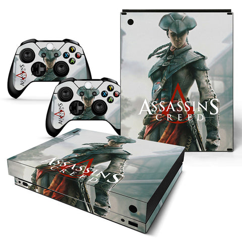 Assassin's Creed Vinyl Skin Sticker Protector for Xbox One X