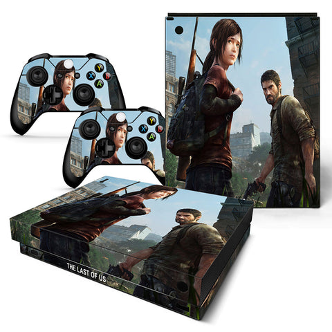 The Last Of US Vinyl Skin Sticker Protector for Xbox One X