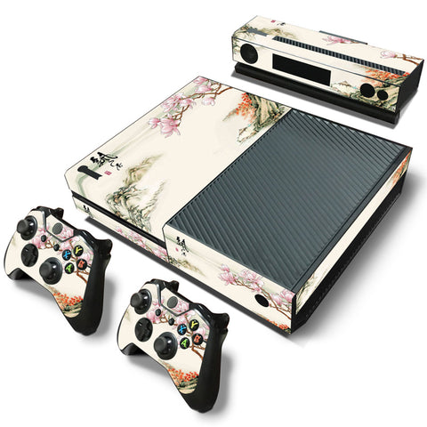 Decorative Pattern Vinyl Skin Sticker Protector for Xbox One