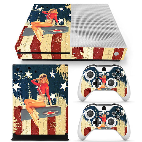 Actionfiguresale Sexy Vinyl Skin Sticker Protector for Xbox One S