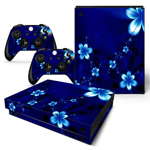 Actionfiguresale Geometric Figure Vinyl Skin Sticker Protector for Xbox One X
