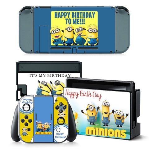 Actionfiguresale Nintend Switch Vinyl Skins Sticker  - For Minions