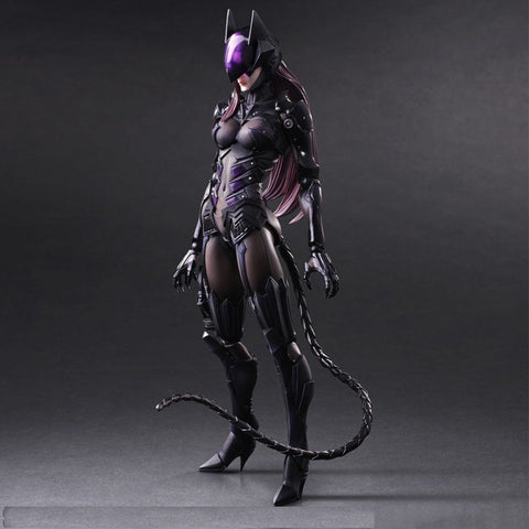 Play Arts DC Catwoman Action Figure Toy 25cm