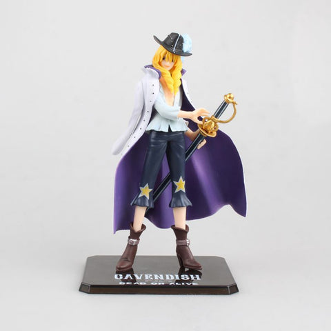 Actionfiguresale 17cm One piece Cavendish Action Figure Toys