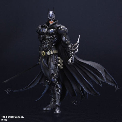 Actionfiguresale Play Arts DC Batman Black Blue Limited Action Figure Toys 25cm
