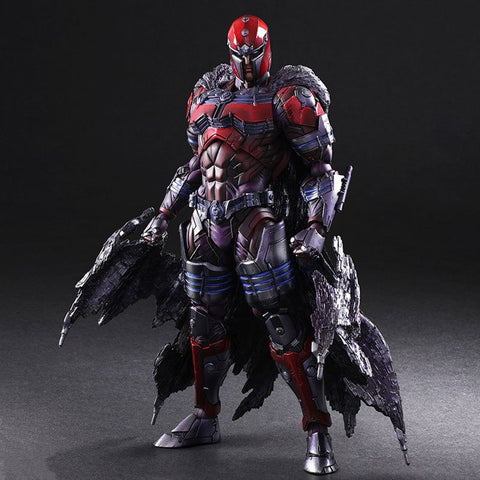 Actionfiguresale Play Arts Marvel Magneto Action Figure Toy 26cm