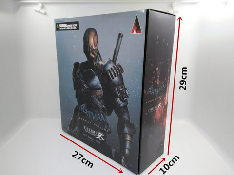 Actionfiguresale Play Arts DC Batman Arkham Origins Deathstroke Action Figures Toys 25cm