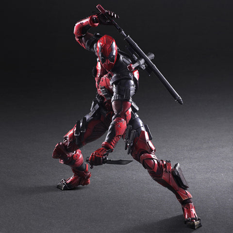 Actionfiguresale Play Arts Marvel Super Hero Deadpool Action Figure PA Toys 25cm