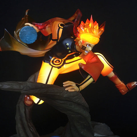 23cm Naruto Uzumaki Naruto Lighting Anime Action Figure Toys