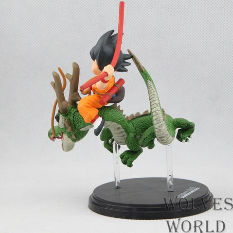Actionfiguresale Dragon Ball Z Goku with Dragon Riding Action Figure Toys