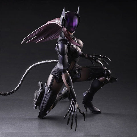 Actionfiguresale Play Arts DC Catwoman Action Figure Toy 25cm