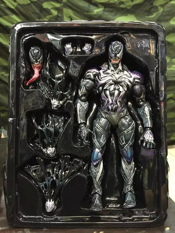 Actionfiguresale Play Arts Marvel Venom in Movie Spiderman Action Figure Toys 25cm