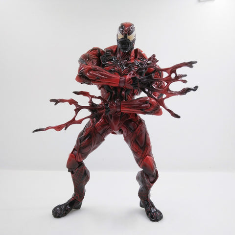 Actionfiguresale Play Arts Marvel Venom Red Limited Figure Toys 25cm