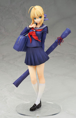 Actionfiguresale New 20cm Fate Stay Night Saber School Uniforms Figure Toys