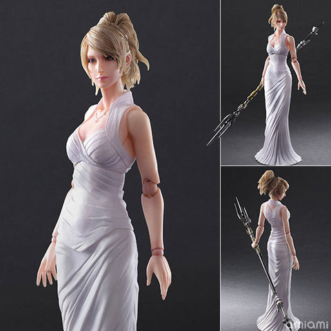 Actionfiguresale PLAY ARTS Final Fantasy Lunafrena Action Figure Toys 25cm